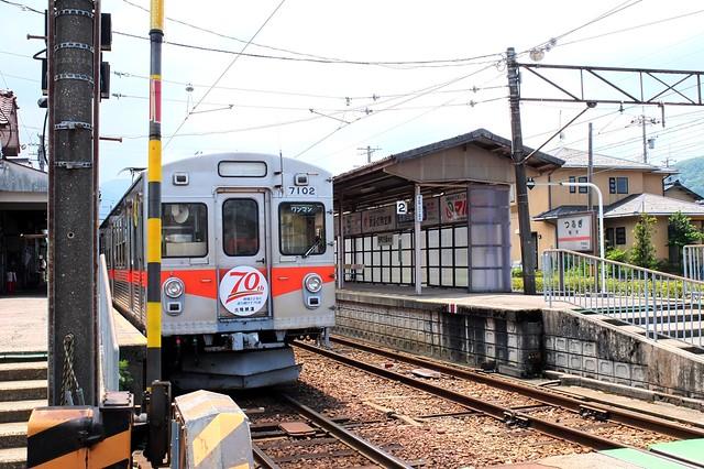 北陸鉄道石川線 鶴来駅