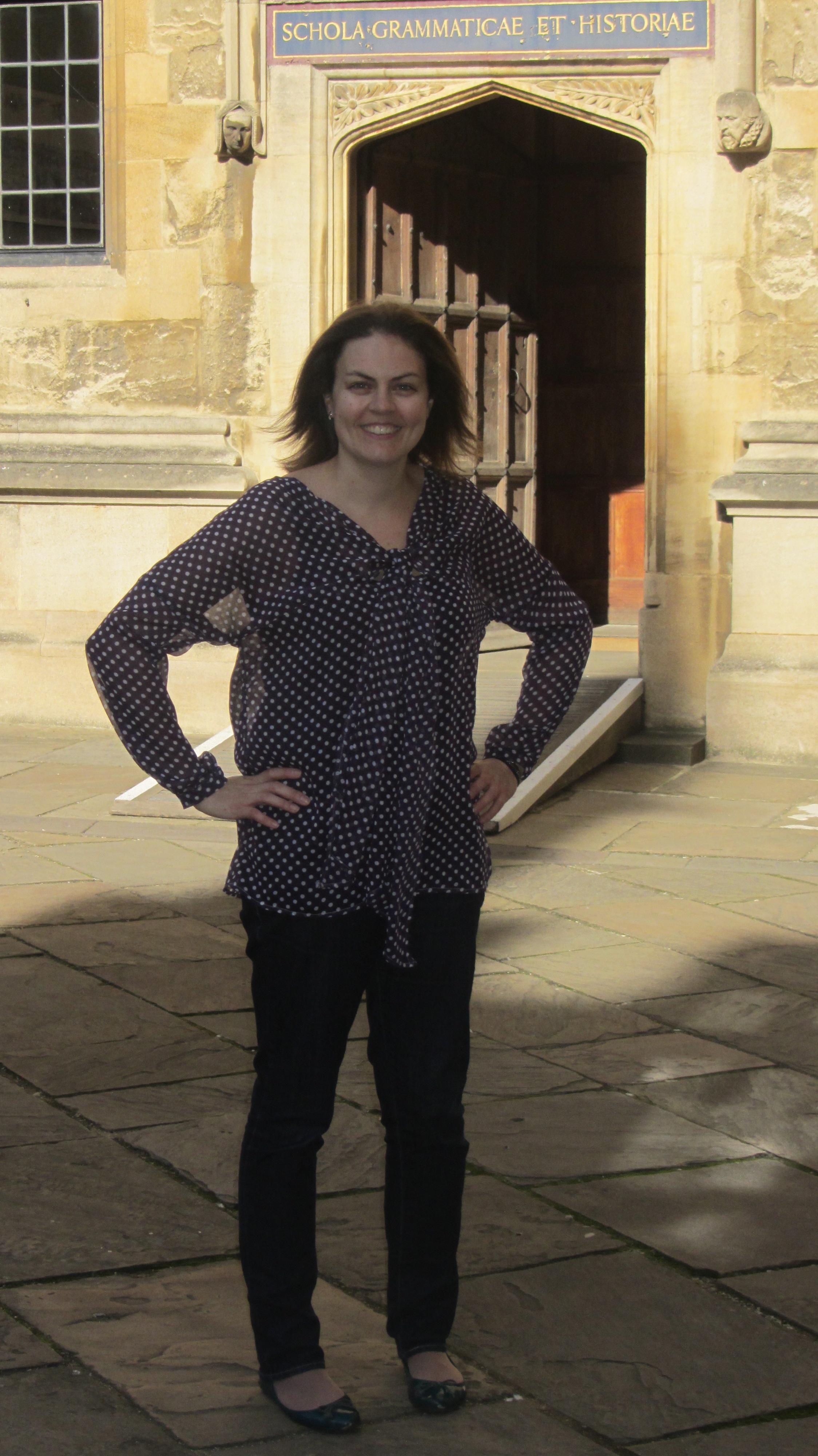Spotty chiffon blouse