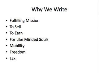 gary scott writers camp