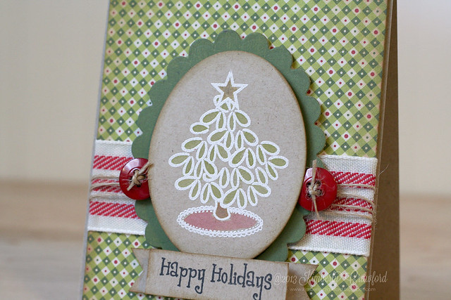 The Crafts Meow happy holidays cu by Kimberly Crawford
