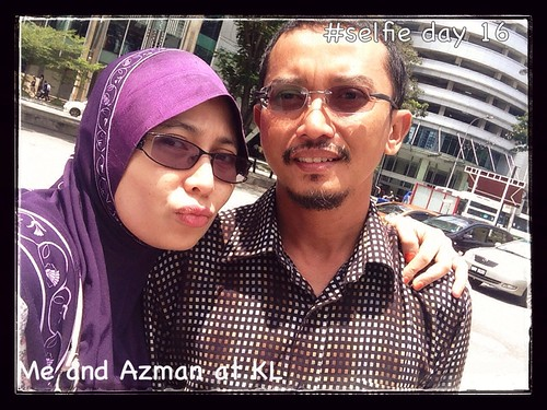 Day 16: Me and Azman at KL
