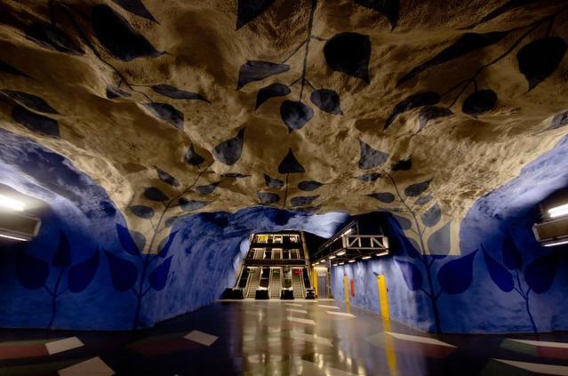 Stockholm - T-Centralen metro station