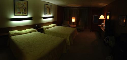 Koolwink Motel room, Romney, WV