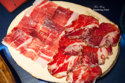 Course 5-7: Joselito's Iberico ham and Coppa