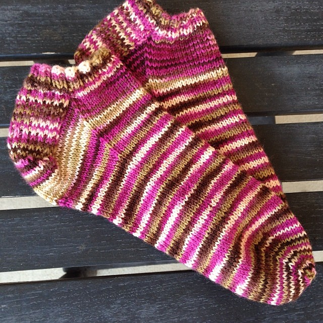 Socks are finished! #ankletsock #lornaslaces #knitting