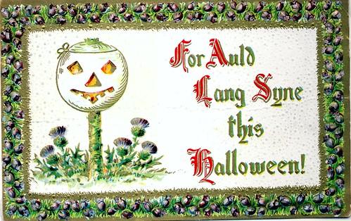 Halloween Auld Lang Syne