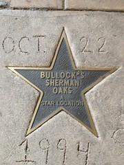 Sherman Oaks, A Bullock's Star