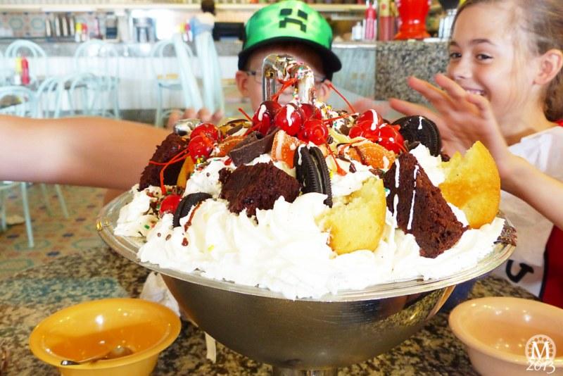The Kitchen Sink at Beaches & Cream Soda Shop