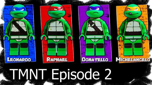 Titan Pictures Studio Lego Teenage Mutant Ninja Turtles Lego
