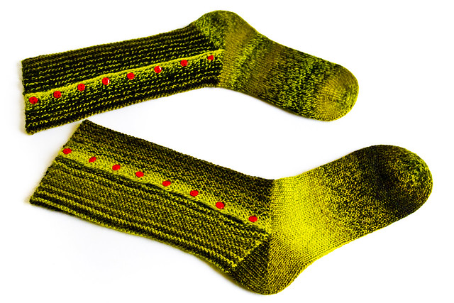 Stuffed Olive Socks