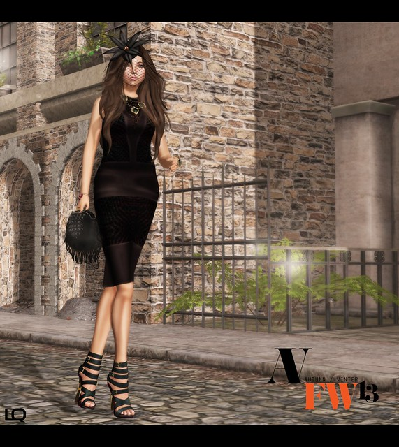 Ave Fashion Week Fall Winter 2013 (Kunglers) Shift Dress - Raisinv3