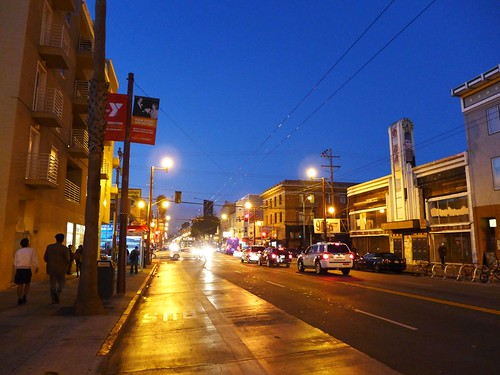 Mission District blue hour