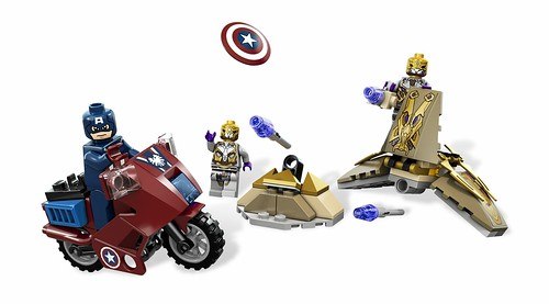 LEGO Marvel Super Heroes 6865 Captain America's Avenging Cycle 00