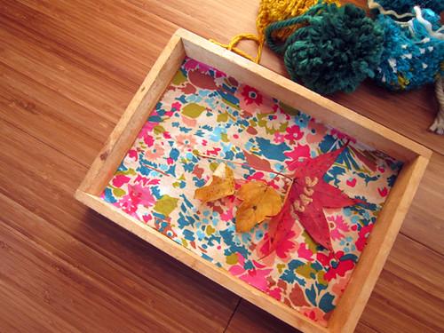 a Liberty tray