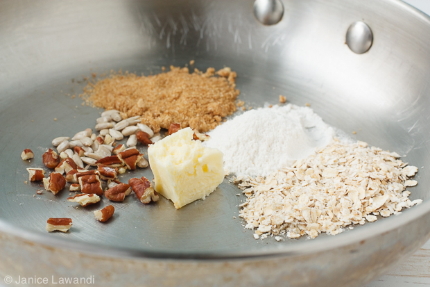 crumble topping ingredients | kitchen heals soul