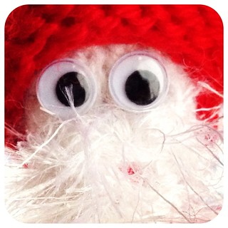 Googly Santa Decoration: free pattern coming soon!