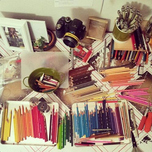 Prismacolor Pencil Set