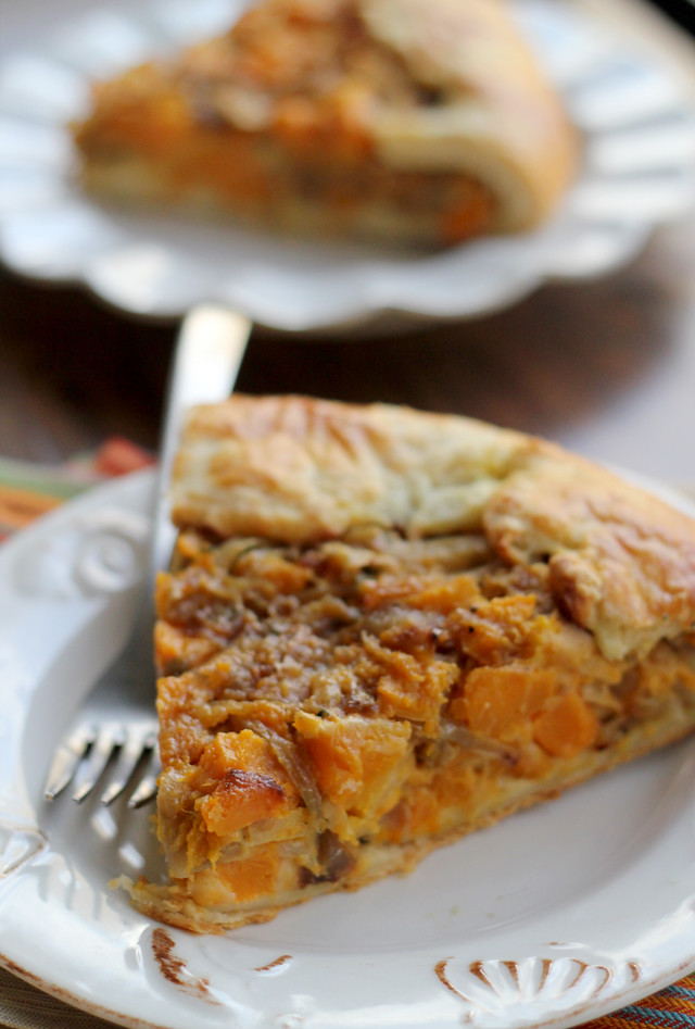 Butternut Squash and Caramelized Onion Galette | Joanne ...