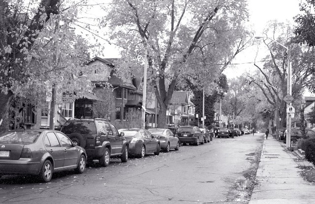 Riverdale Side Street.