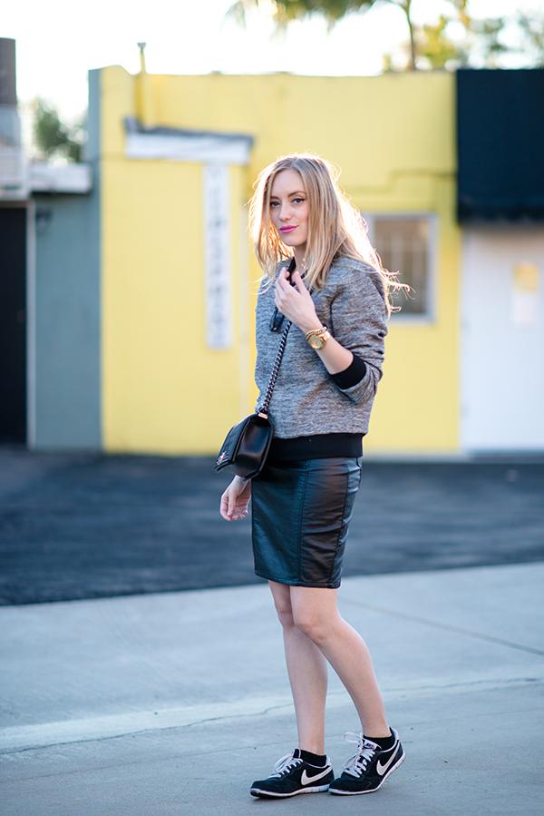 eatsleepwear, outfit, rebecca-taylor, guess, nike