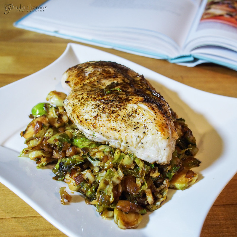 Brussels Sprout and Apple Hash