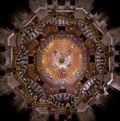 Aachen Cathedral Ceiling