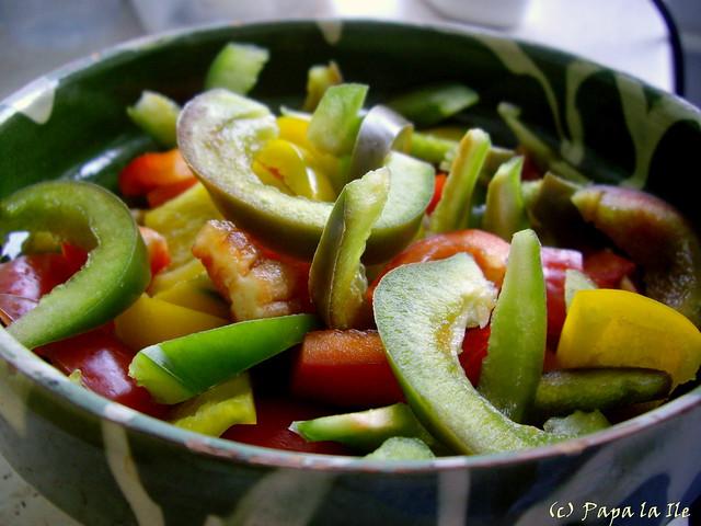 Salata cu ciuperci si ardei (4)