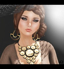 [PXL] MIA ~BlackLabel~ NAT PEACH MEB & MiWardrobe - Sunspot - Necklace - MW  for Laccessoires