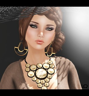 [PXL] MIA ~BlackLabel~ NAT PEACH MEB & MiWardrobe - Sunspot - Necklace - MW  for L'accessoires