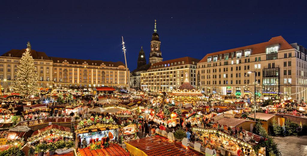 Коледа в Дрезден