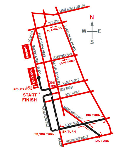 Santa Monica – Venice Christmas Run Street Closures