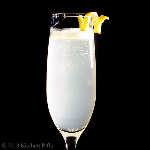 Kitchen Riffs: The French 75 Cocktail