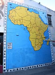 Newtown Africa Mural