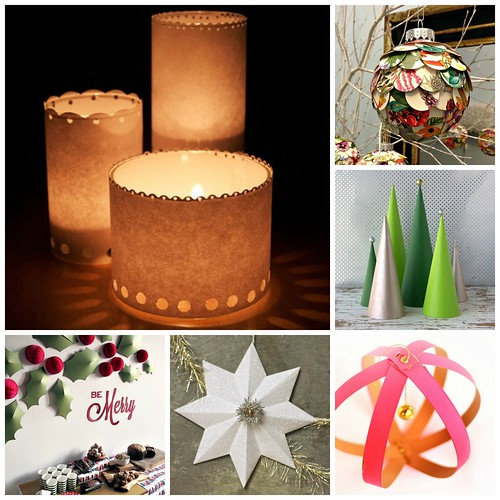 6 easy Christmas paper crafts