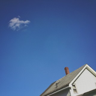A Cloud and A House