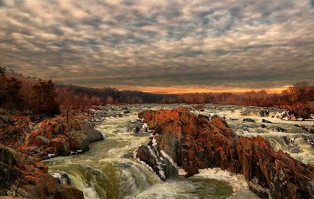 Great Falls Virginia, Winter 2014