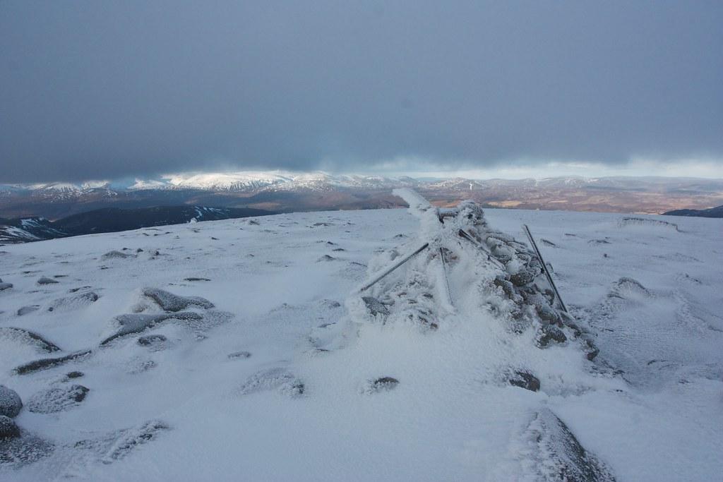 Summit of Sagairt Mor