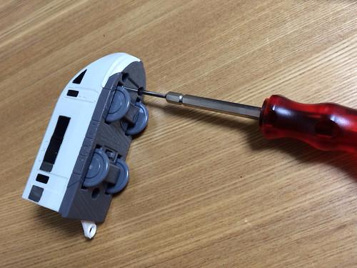 マクドナルド ハッピーセット プラレール車両 電池交換