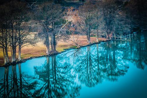 longexposure morning lake austin river landscape texas unitedstates newyear hdr lakeaustin