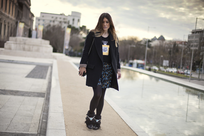 street style barbara crespo apache style boots fashion blogger madrid outfit