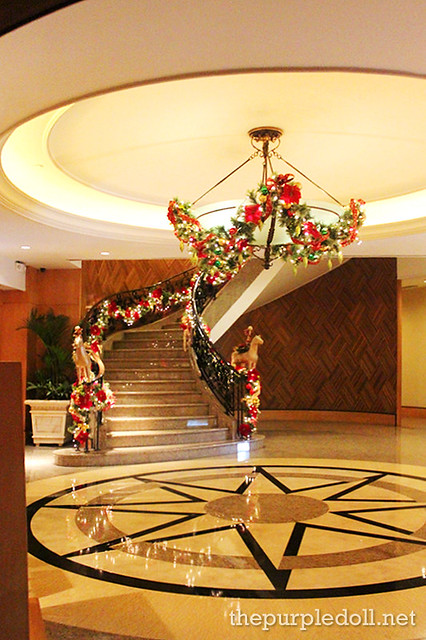 Lobby and Staircase at Bellevue Manila Main Wing