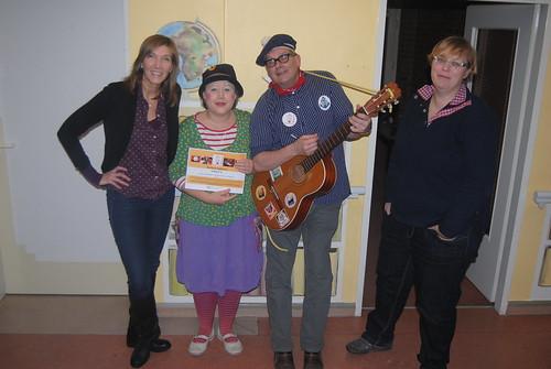 Unsere Kollegin Sabine Lahl zu Besuch bei den Klinik-Clowns Hamburg