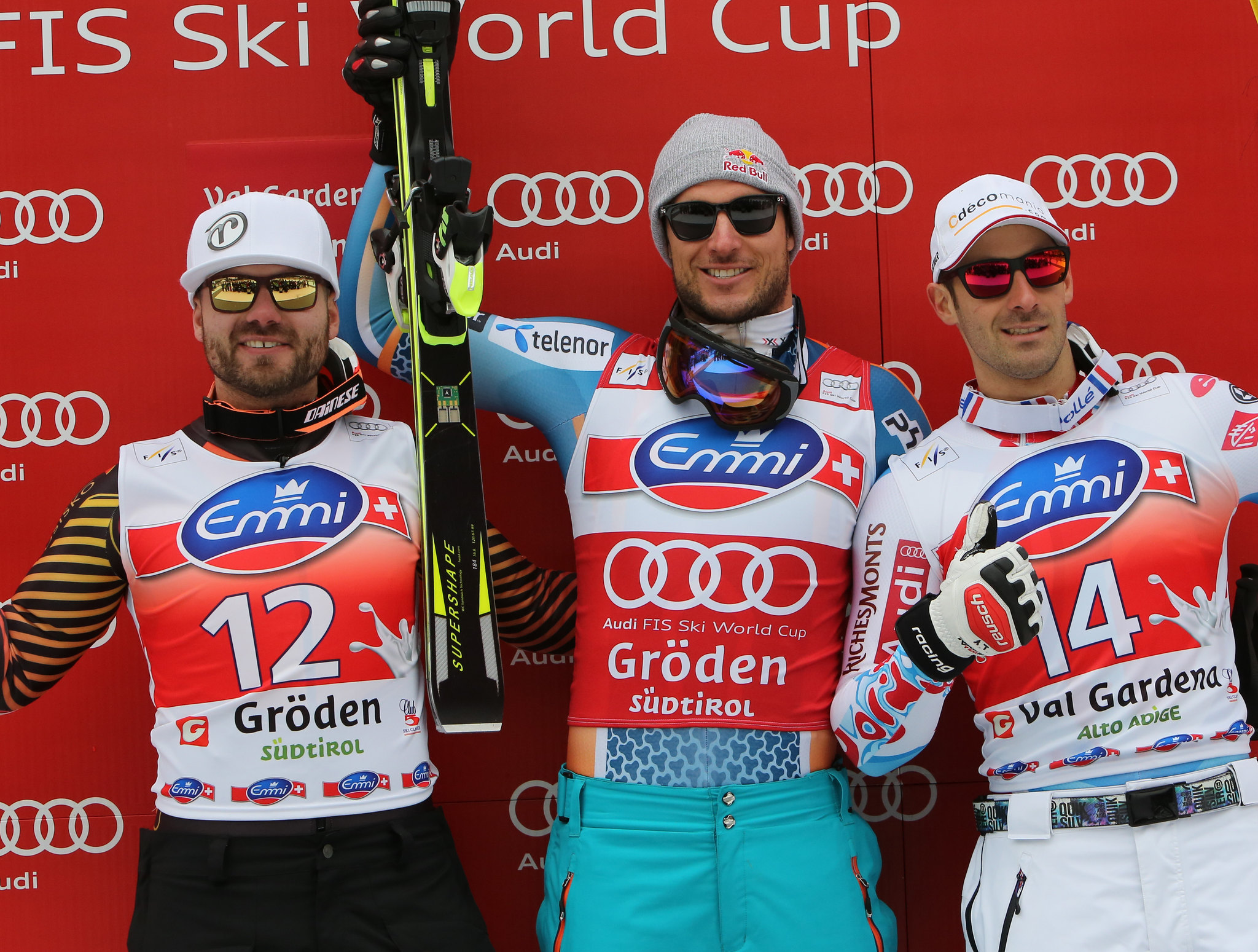 Jan Hudec earns a spot on the podium in Val Gardena, ITA