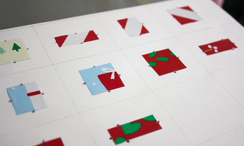 Christmas cards - gift tags WIP