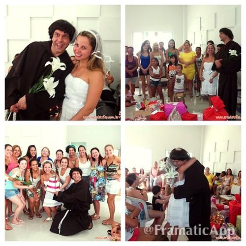 O CHÁ DE COZINHA da Camila foi mega divertido com a participação de SANTO ANTÔNIO! #telegramaanimado #chadecozinha #chabar #chadelingerie #casamento #wedding #noiva #noivo #noivos #casar #casando #vestidodenoiva #assessoria #assessoriadecasamento #artedat by Arte da Tribo Produções
