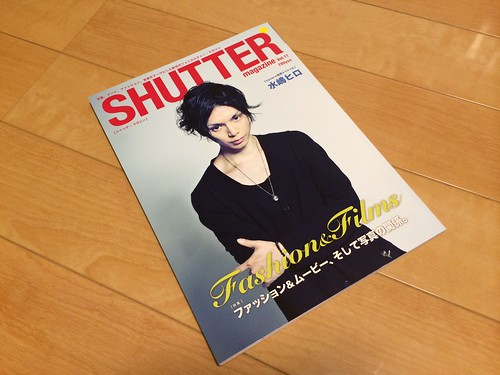 iPhone5sで撮影 Shutter Magazine Vol.11 2014年1月28日