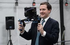Chancellor visits Ealing Studios