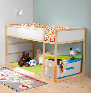 Loft Bed w/ Play Space Below