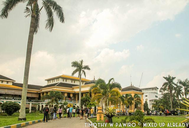 Indonesia - Medan - Maimoon Palace