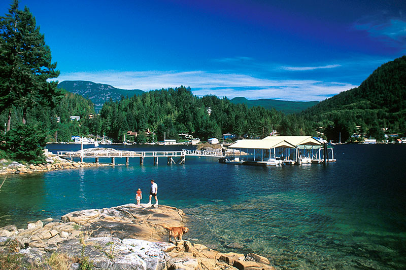Garden Bay, Sechelt Peninsula, Sunshine Coast, British Columbia, Canada